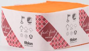 Fiblon lautasliina annostelijoihin 33cm 1-krs - appelsiini