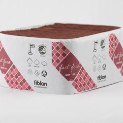 Fiblon lautasliina annostelijoihin 33cm 1-krs - kaakao