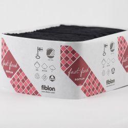 Fiblon lautasliina annostelijoihin 33cm 1-krs - musta