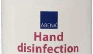 ABENA käsihuuhde 73,5 p-% 500ml pumppupullo