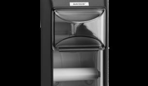 Katrin WC-paperiannostelija, 2 rll - musta