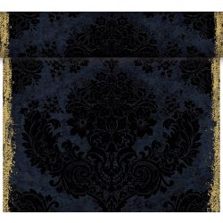 Dunicel  -poikkiliina 0,40 x 24 m, Royal Black