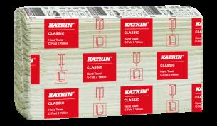 Katrin Classic Hand Towel C-fold 2 yellow