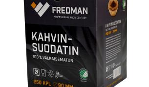 Fredman kahvinsuodatin 90mm, 250kpl
