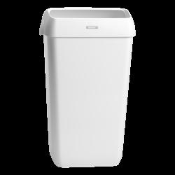 Katrin kannellinen roskakori 25 L - valkoinen