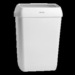 Katrin kannellinen roskakori 50 L - valkoinen