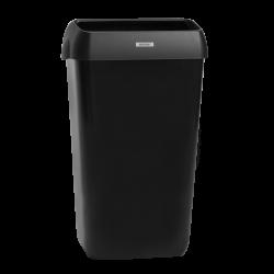 Katrin kannellinen roskakori 25 L - musta