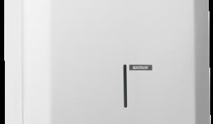 Katrin-käsipyyheannostelija - metalli, valkoinen