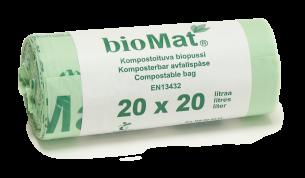 Biopussi 20L sangoilla 420x500