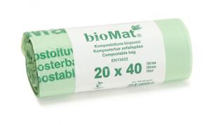 Biomat Biopussi 40L 20kpl/rll