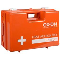 OX-ON Pro Comfort ensiapulaukku kova salkkumallinen oranssi