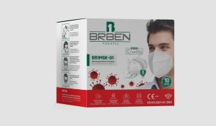 Hengityssuojain FFP2 ilman venttiiliä 25kpl
