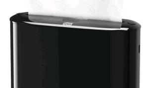 Tork Xpress® pöytäannostelija Multifold käsipyyhkeelle - musta