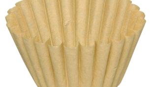 ABENA suodatinpaperi Ø 90mm 250/84-90 valkaisematon 250kpl