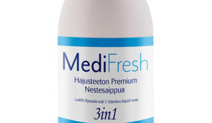 MediFresh Premium 3in1 nestesaippua hajusteeton 0,5L