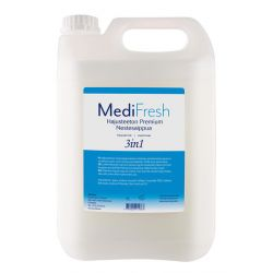 MediFresh Premium 3in1 nestesaippua hajusteeton 5L