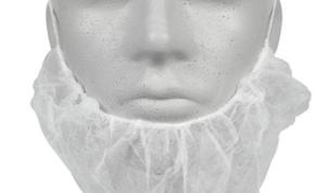 ABENA partasuoja kuminauhalla valkoinen 100kpl