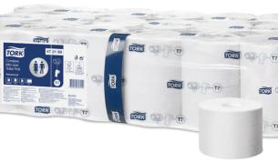 Tork Hylsytön wc-paperi Advanced – 2-kerroksinen