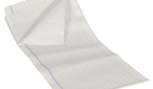 ABRI-BED BasicPlus poikkilakana kk 80x140 lankavahvist (48) 2krs 25kpl