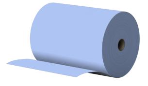 Teollisuuspaperi 340m sininen 3krs