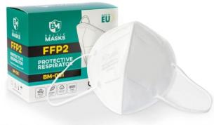 Hengityssuojain FFP2 ilman venttiiliä 10kpl