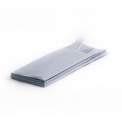 Softlin taskullinen aterinliina 33x39cm betoni