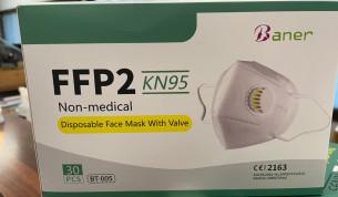 Hengityssuojain FFP2 venttiilillä 30kpl
