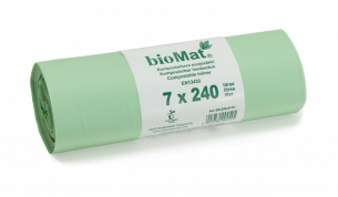 Biohajoava suojasäkki 240L