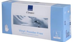 ABENA Classic vinyylikäsine L läpikuultava 100kpl